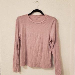 Pink long sleeved shirt
